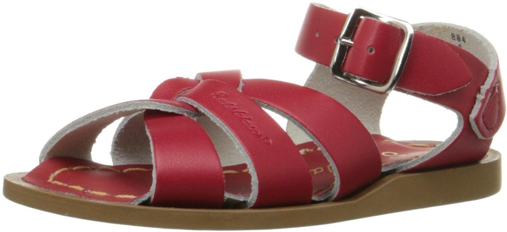 Salt Water Sandals by Hoy Shoe Original Sandal - Red - Toddler 5 -