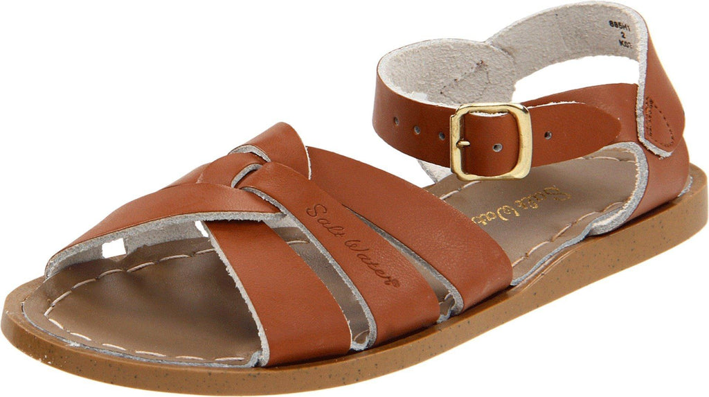 Salt Water Sandals by Hoy Shoe Original Sandal - Tan - Toddler 4 -