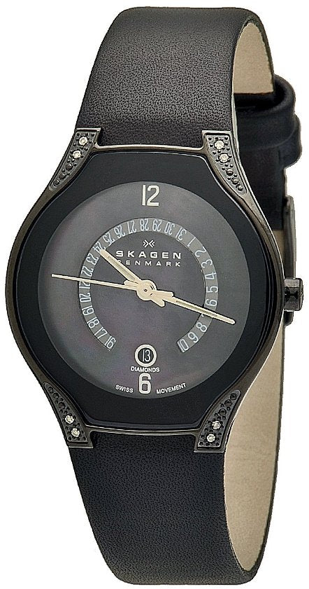 Skagen Black Label Swiss Ladies Watch