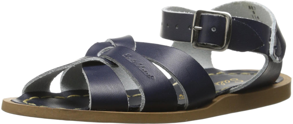 Salt Water Sandals by Hoy Shoe Original Sandal - Navy - Toddler 7 -