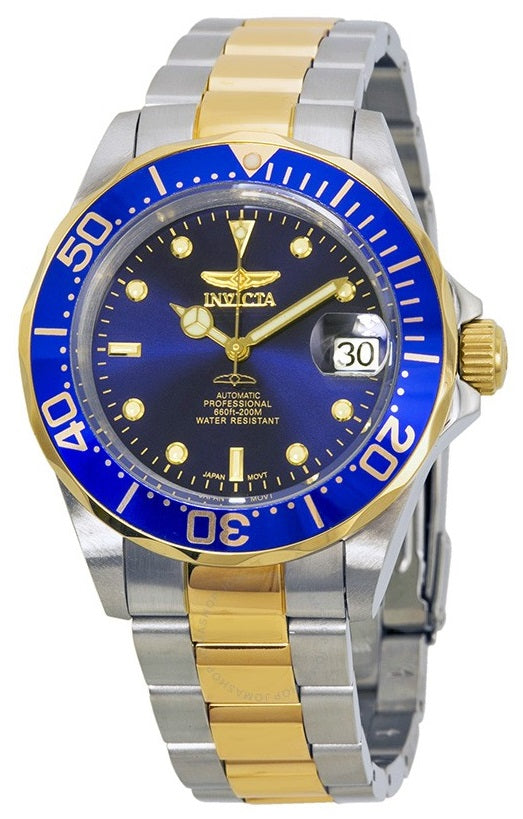 Invicta Pro Diver Two-Tone Automatic Mens Watch