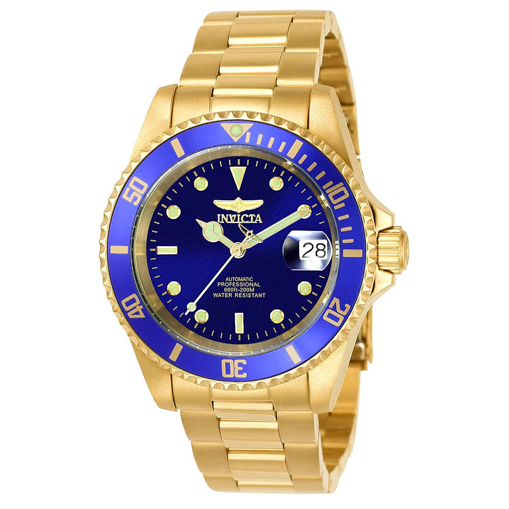 Invicta Pro Diver Automatic Gold-Tone Mens Watch