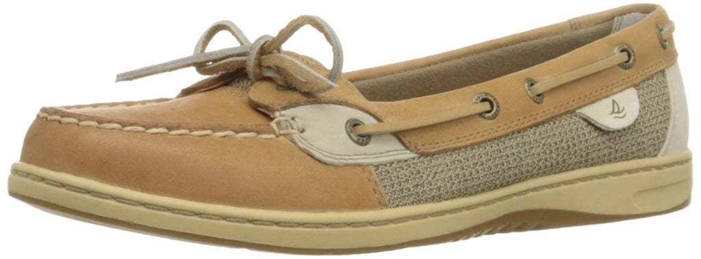 Sperry Top-Sider Womens Angelfish Shoe - Linen/Oat - 8.5