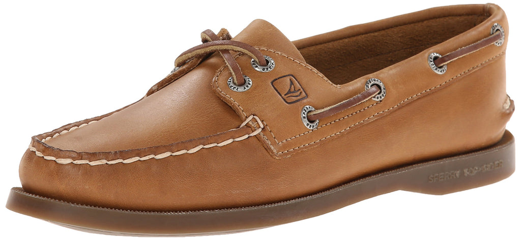Sperry Womens Authentic Original 2-Eye Boat Shoe - Sahara - 7