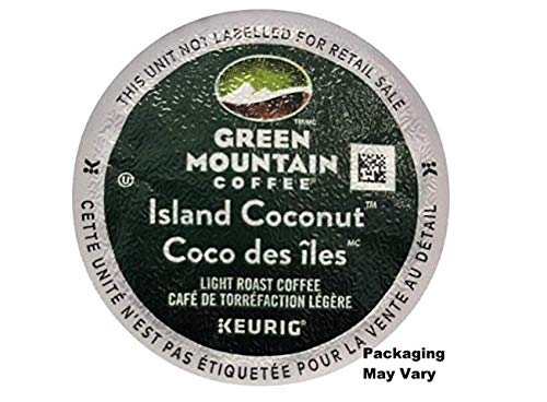 Green Mountain Coffee Island Coconut Keurig K-Cup (96 count) Packaging May Vary