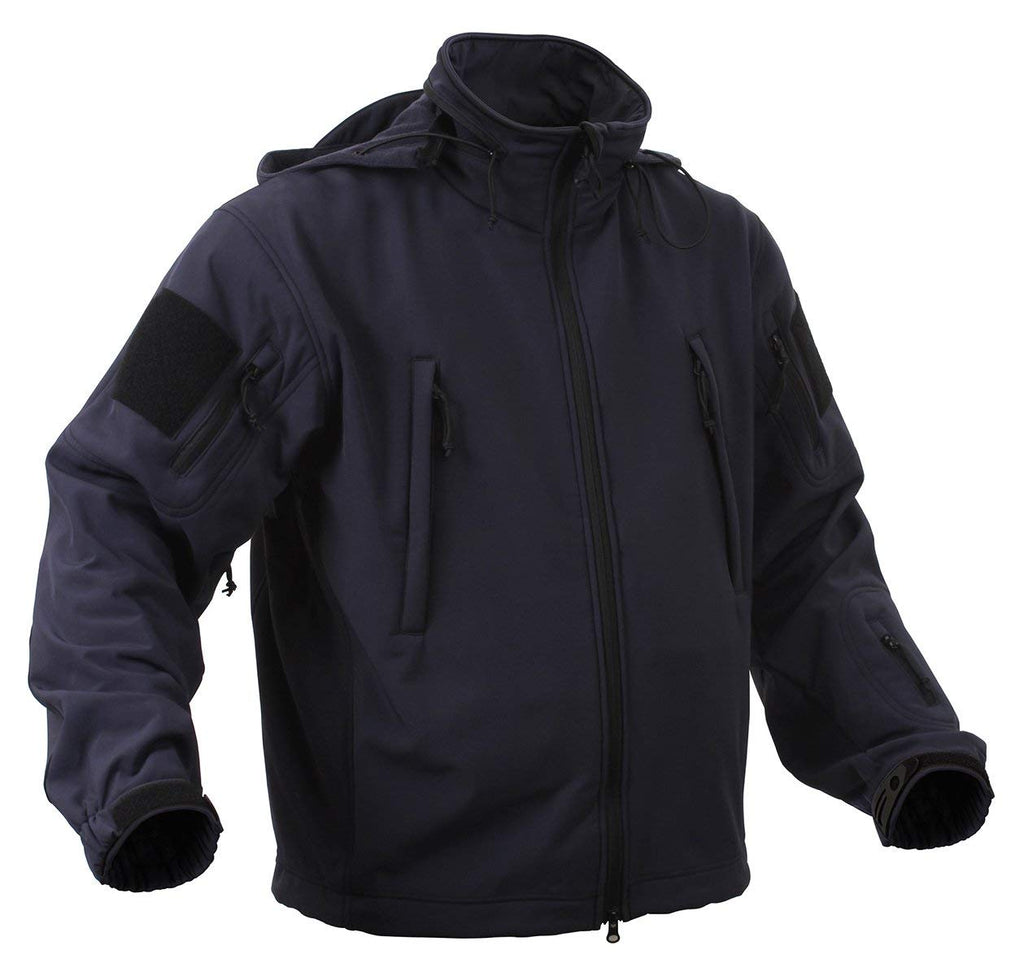 Rothco Special Ops Soft Shell Jacket - Midnite Blue - Small -