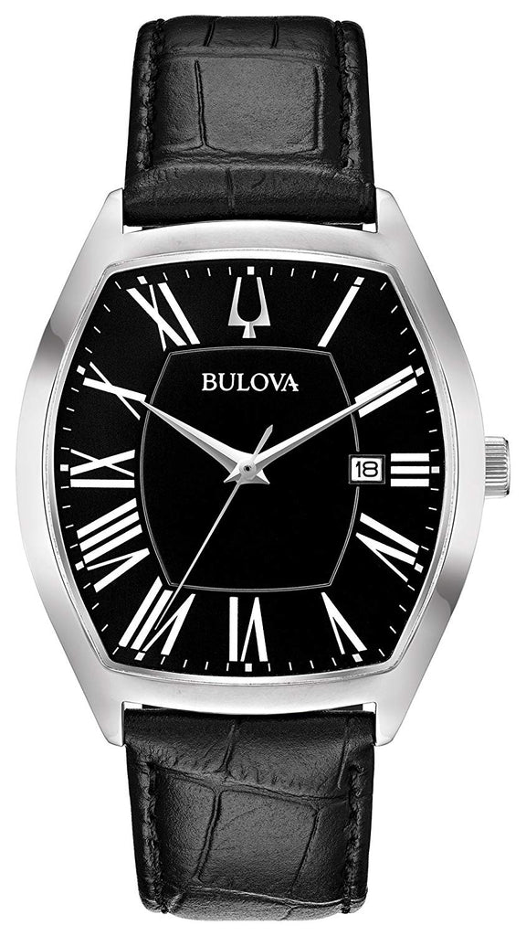 Bulova Ambassador Leather Mens Watch
