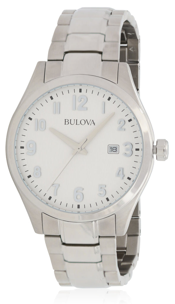 Bulova Stainless Steel Mens Watch