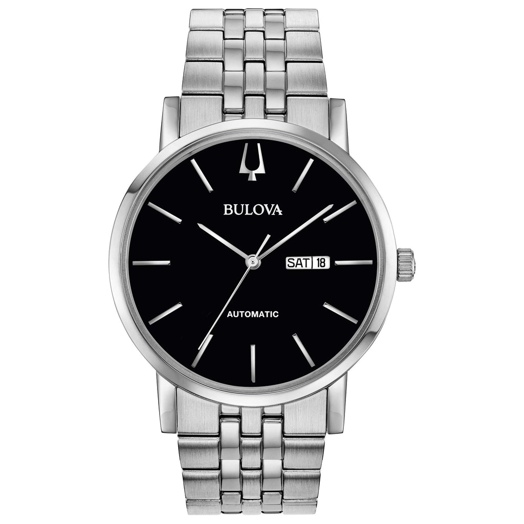 Bulova Classic Automatic Stainless Steel Mens Watch