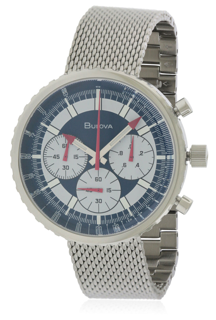 Bulova Archive Chronograph Stainless Steel Mens Watch