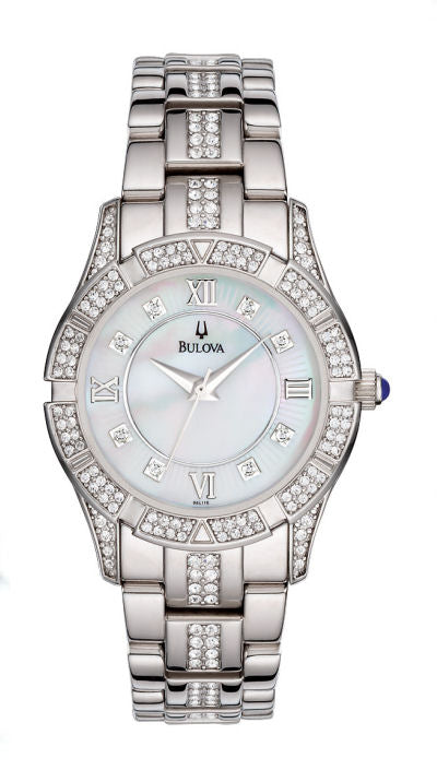 Bulova Crystal Ladies Watch