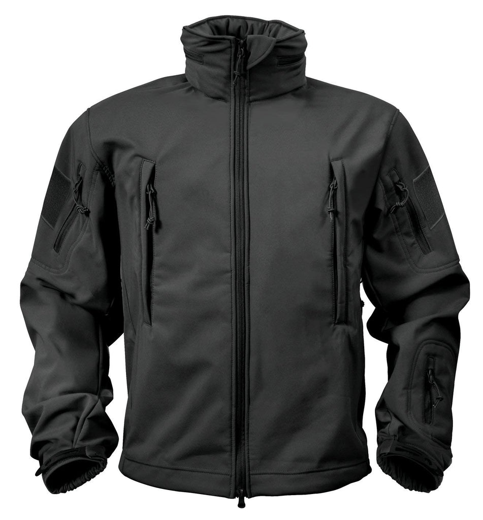 Rothco Special Ops Softshell Jacket - Black - Small -