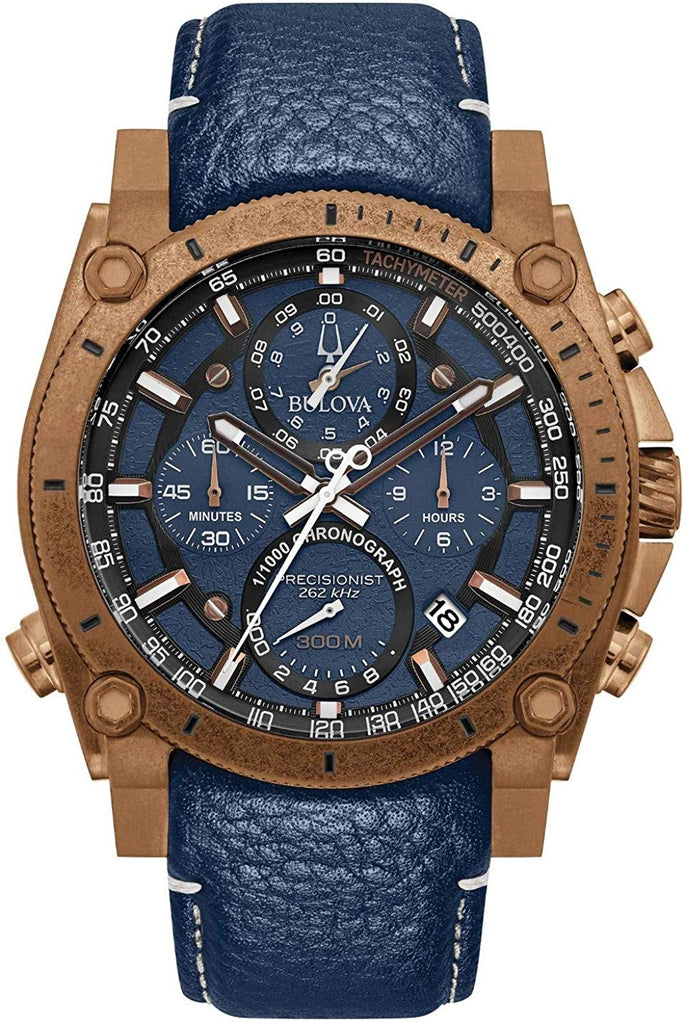 Bulova Precisionist Chronograph Mens Watch