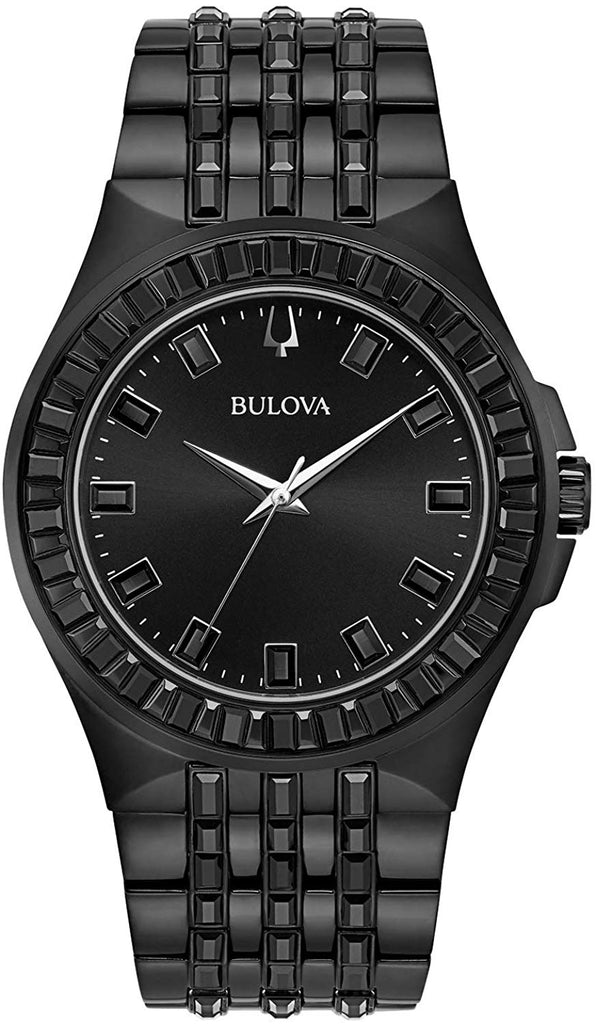 Bulova Phantom Crystal Mens Watch
