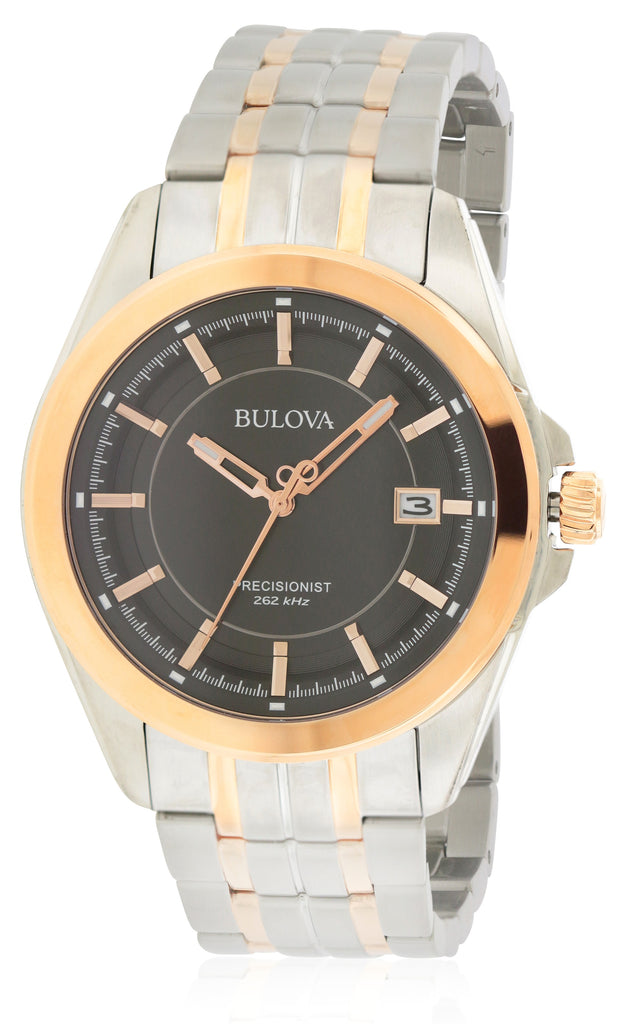 Bulova Two-Tone Stainless Steel  Mens Watch