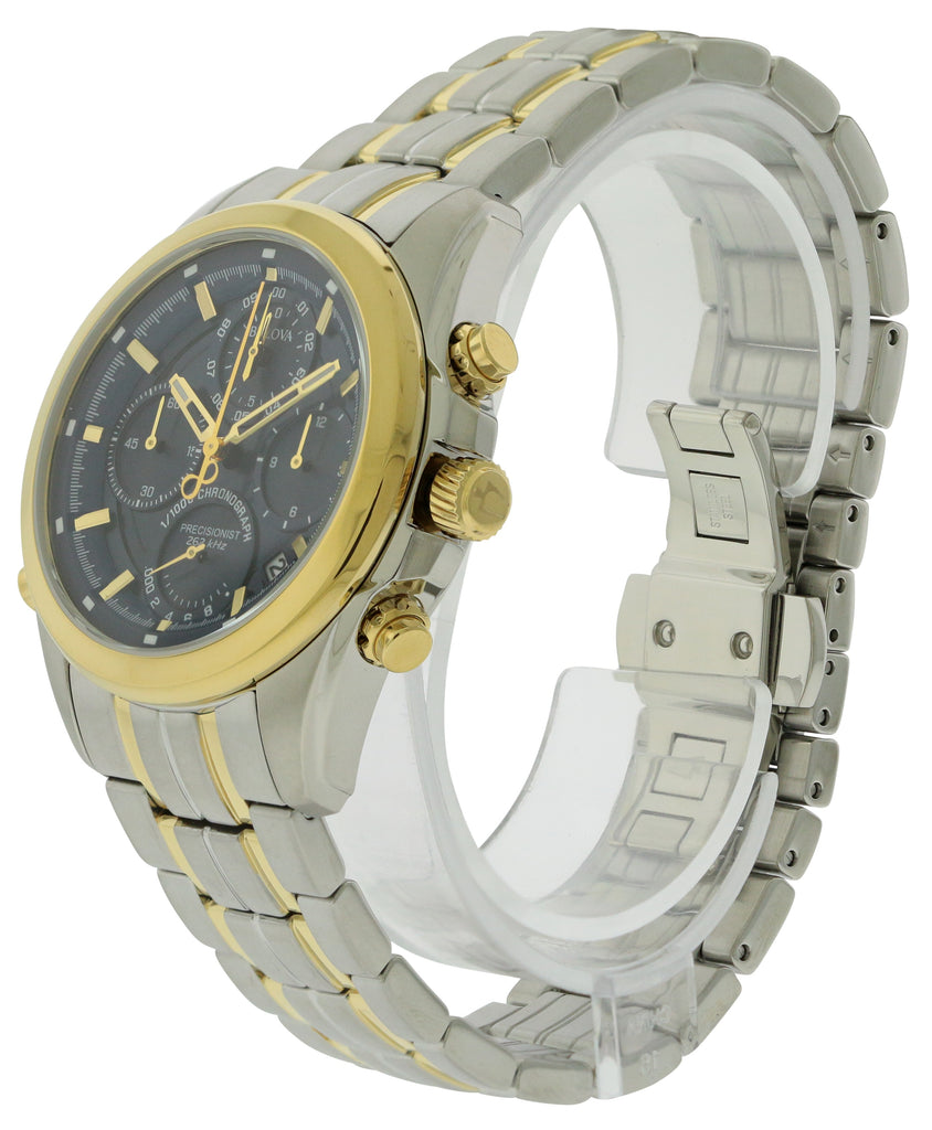 Bulova Two-Tone Stainless steel Chronograph Mens Watch