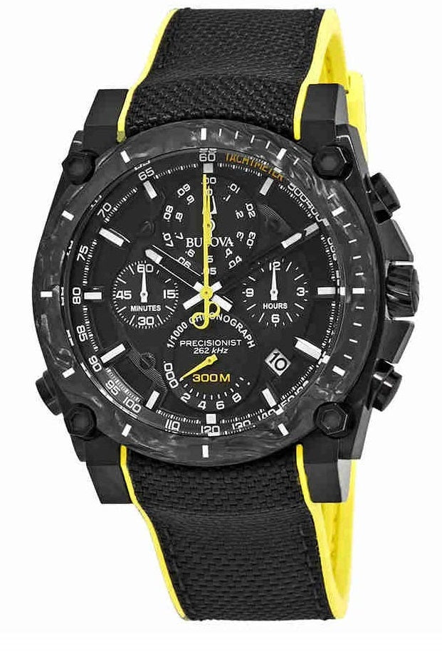 Bulova Precisionist Chronograph Nylon Mens Watch