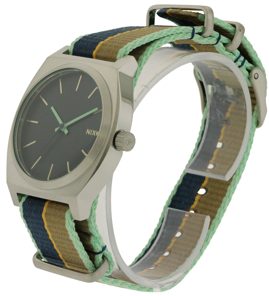 Nixon Time Teller Cloth Ladies Watch
