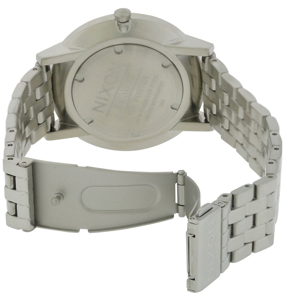 Nixon Stainless Steel Mens Watch