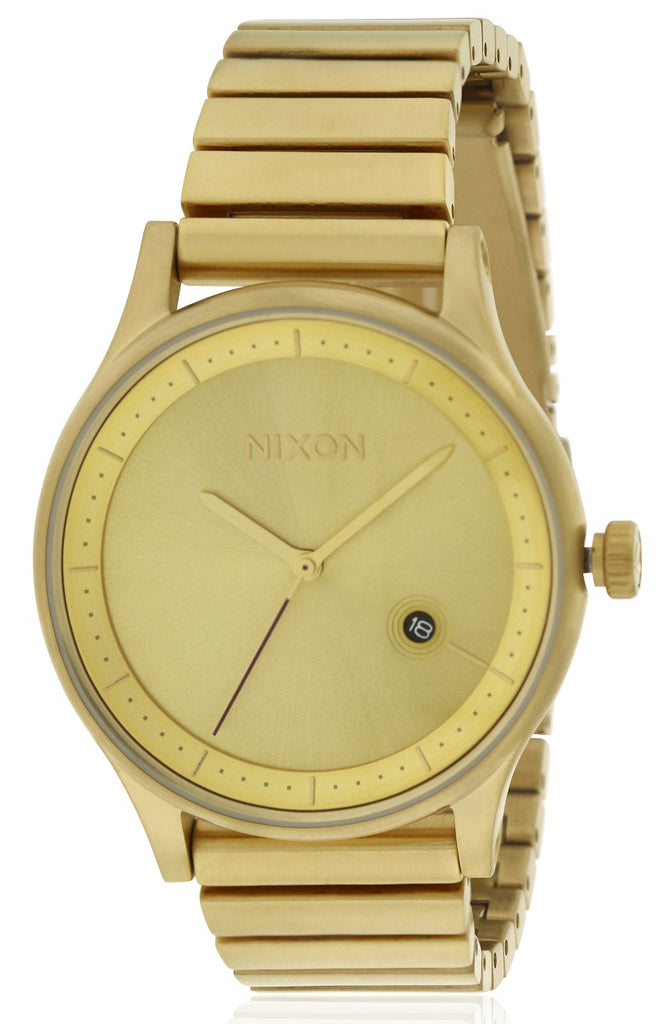 Nixon Gold-Tone Stainless Steeel Mens Watch