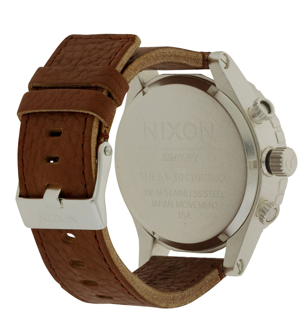 Nixon Leather Mens Watch