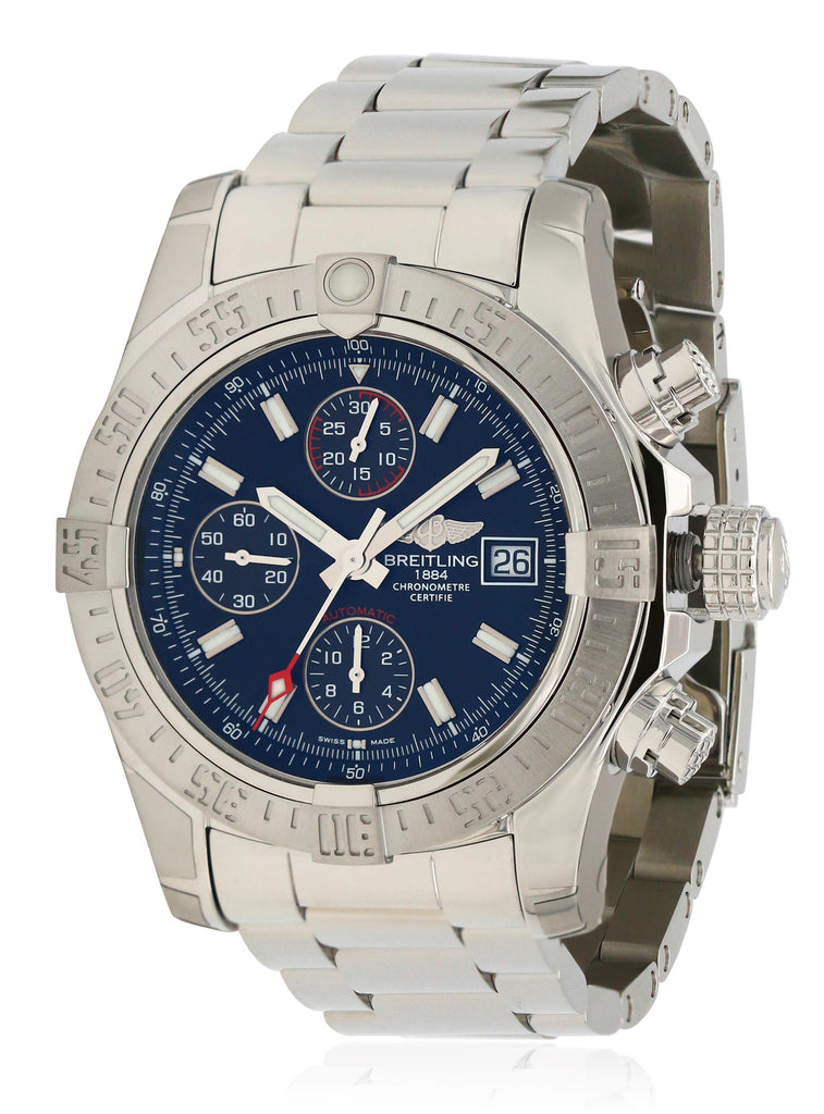 Breitling Avenger II Steel Automatic Mens Watch