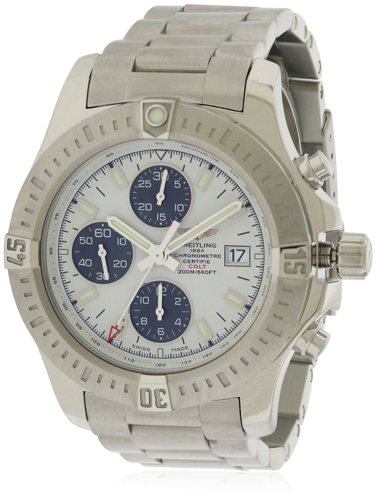 Breitling Colt Chronometer Automatic Chronograph Mens Watch