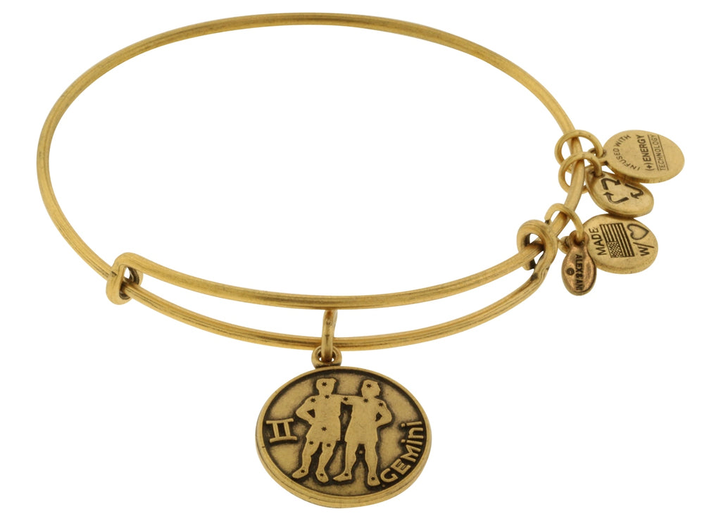 Alex and Ani Gemini Charm Bangle Bracelet -