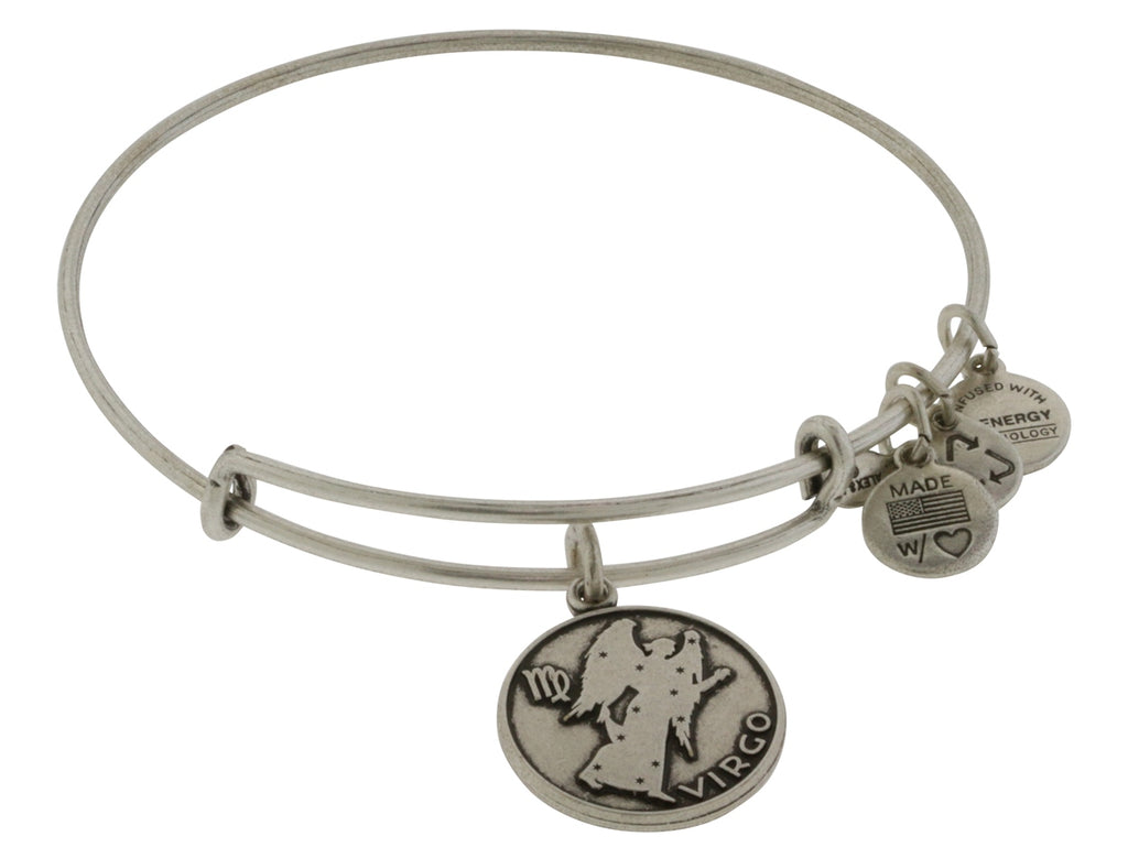Alex and Ani Virgo Charm Bangle Bracelet -