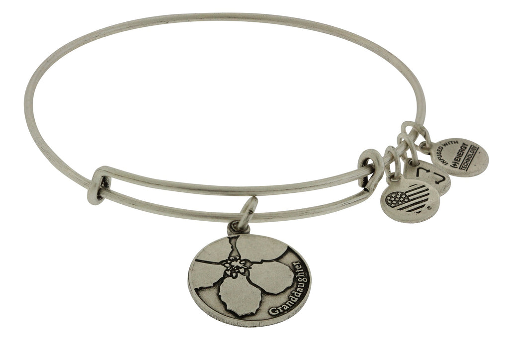 Alex and Ani Granddaughter Charm Bangle Bracelet -