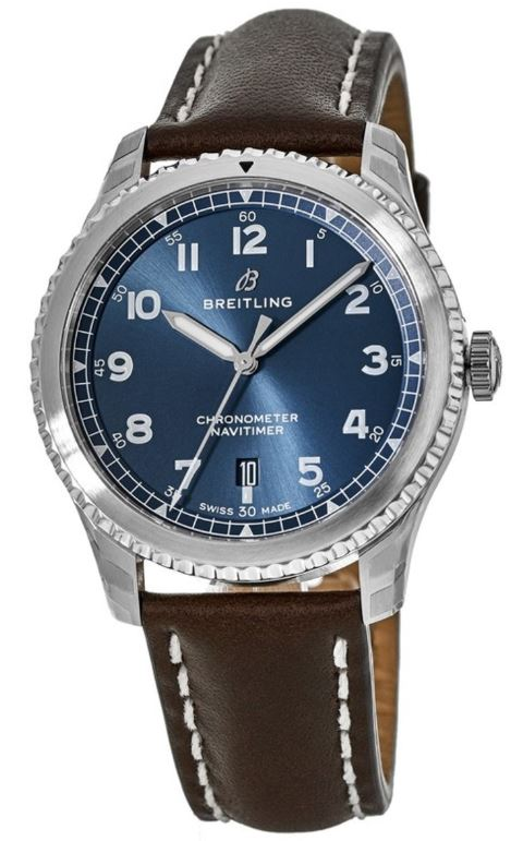 Breitling Navitimer 8 Automatic Chronometer Leather Mens Watch