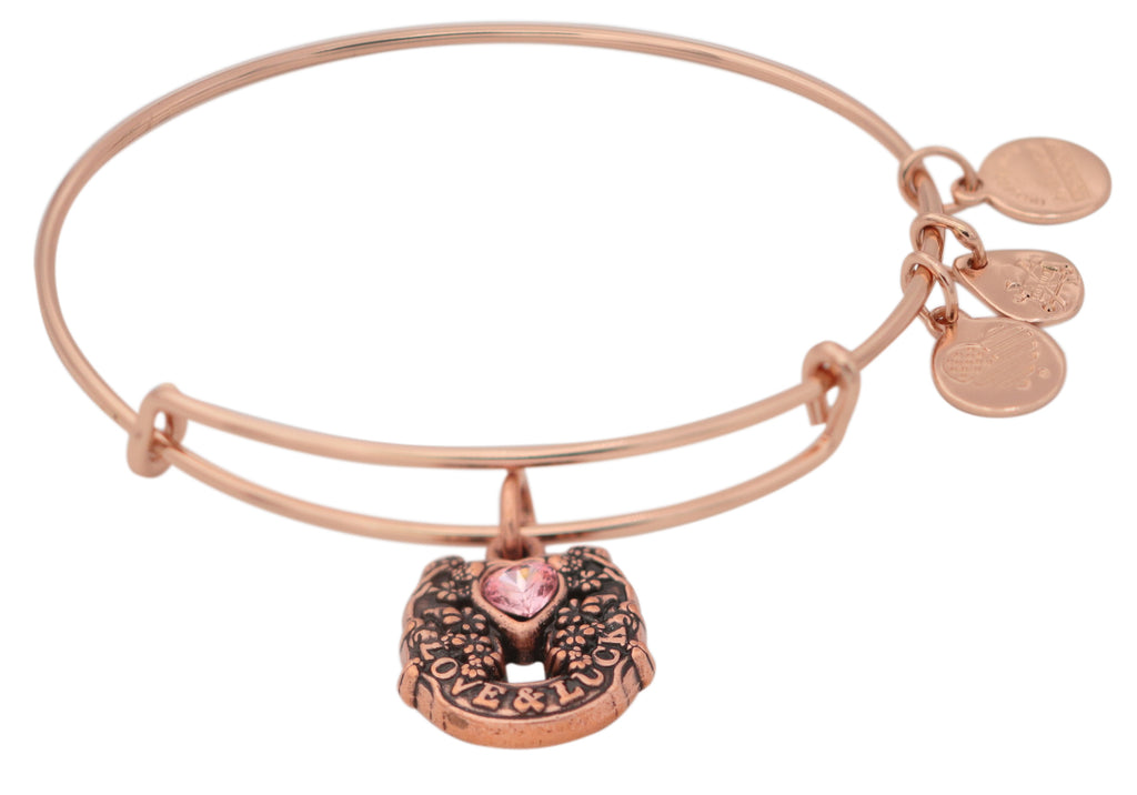 Alex and Ani Fortunes Favor Charm Bangle Bracelet -