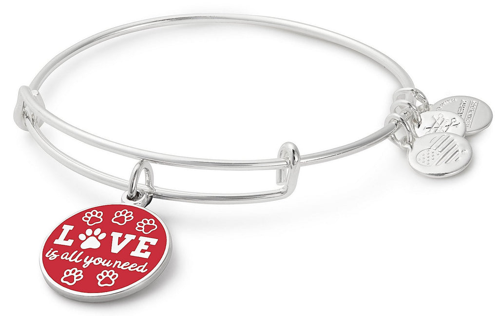 Alex And Ani Love is All You Need Charm Bangle -