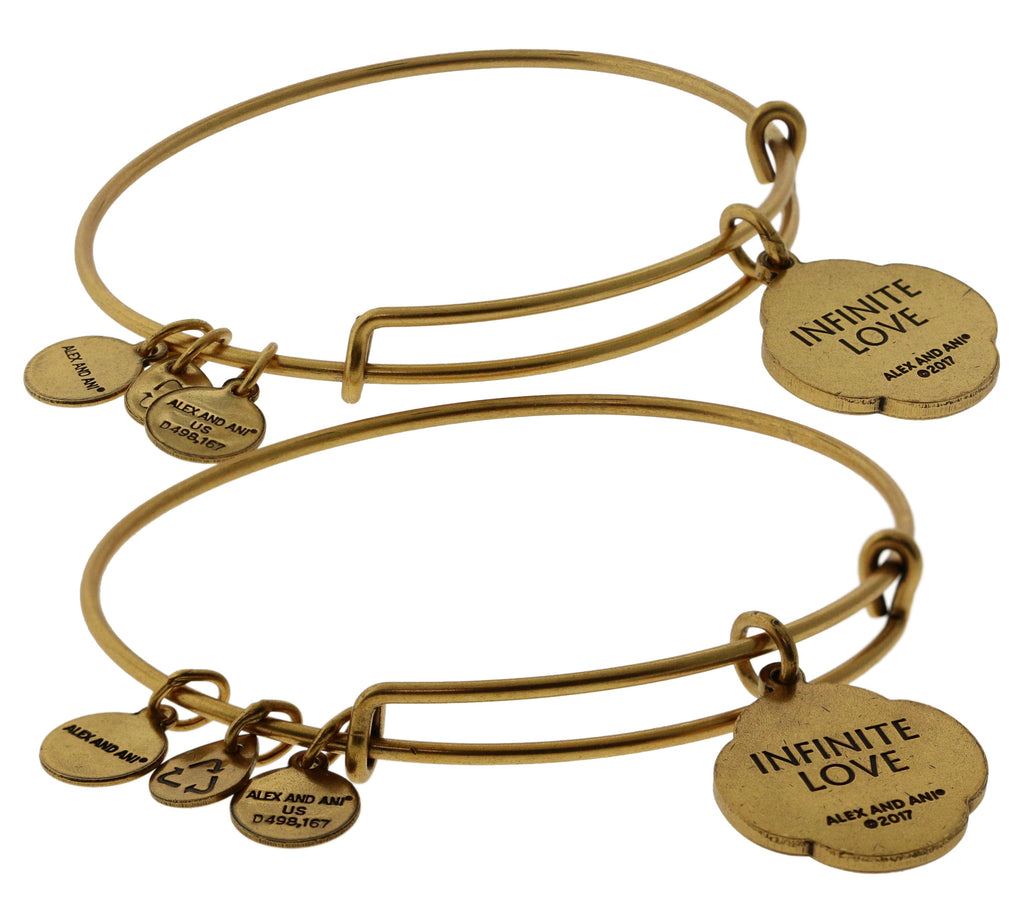 Alex and Ani Mothers and Daughters Infinite Connection Bangle Set -
