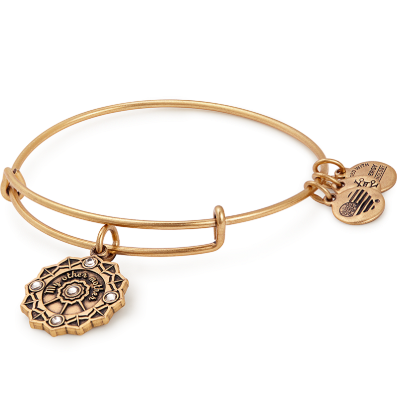 Alex and Ani Mother of the Groom Charm Bangle -
