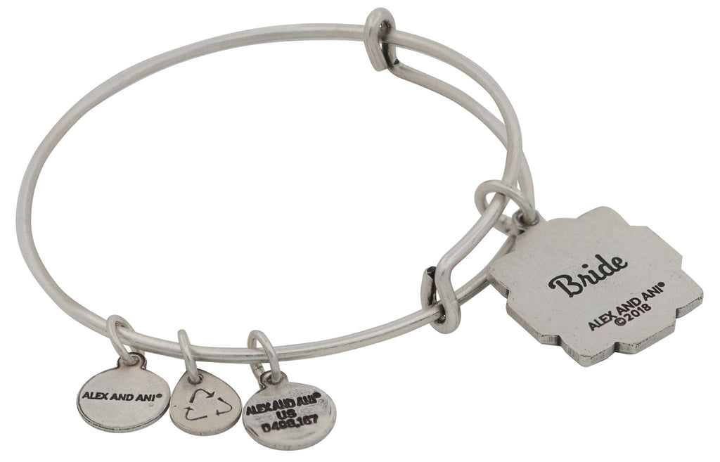 Alex and Ani Womens Bride EWB Bangle Bracelet -