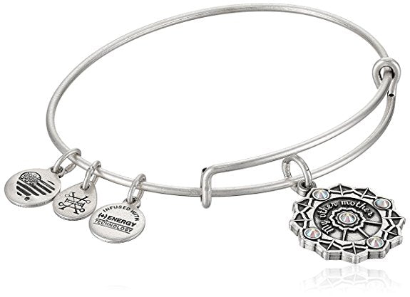 Alex and Ani Womens Mother of the Groom EWB Bangle Bracelet -