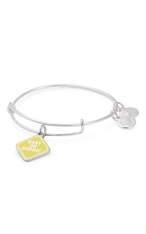Alex And Ani Baby on Board Charm Bangle -