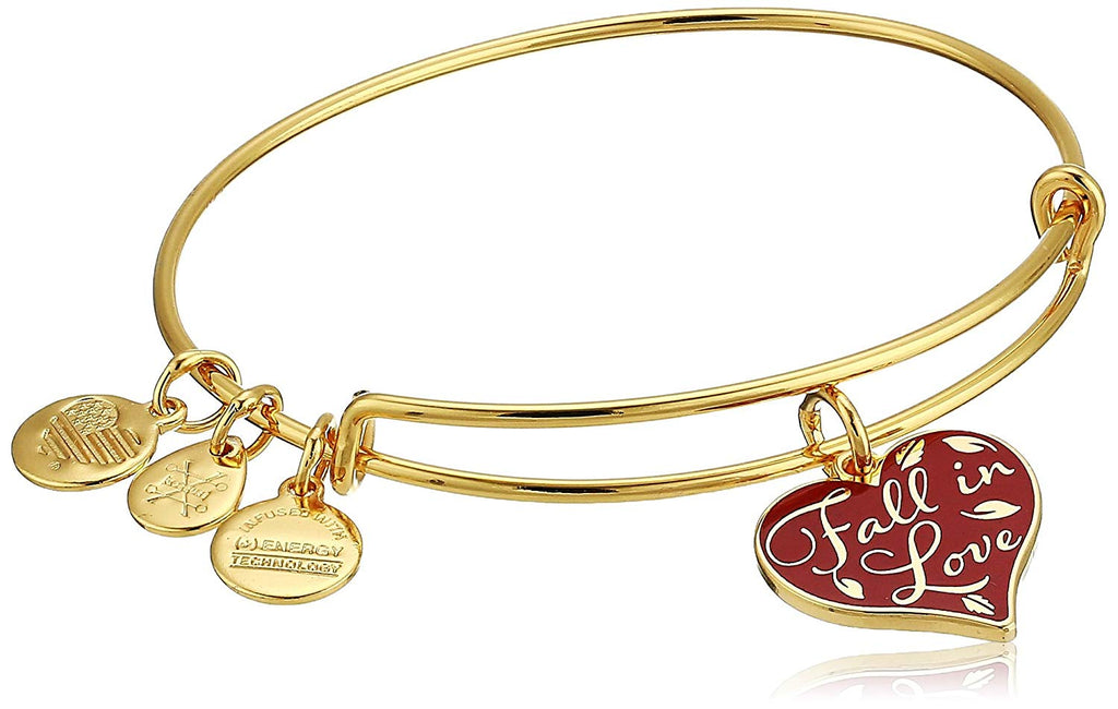 Alex and Ani Color Infusion Fall In Love Bangle -