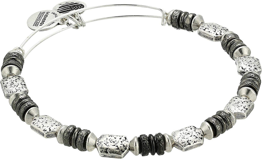 Alex and Ani Luster Bangle Two-Tone -