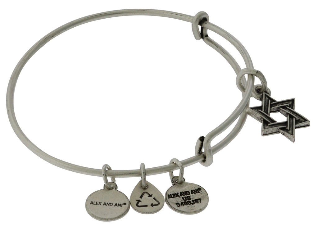 Alex and Ani Star of David IV Bangle -