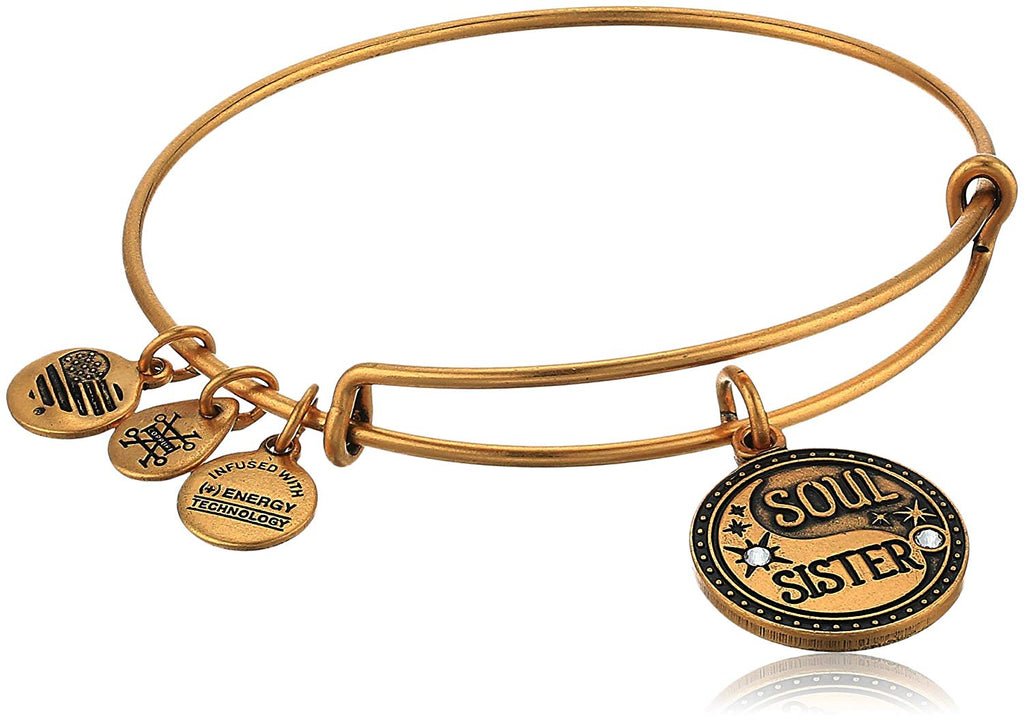 Alex And Ani Soul Sister Charm Bangle -