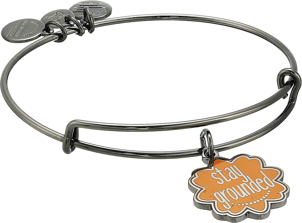 Alex and Ani Words are Powerful Stay Grounded Bangle -