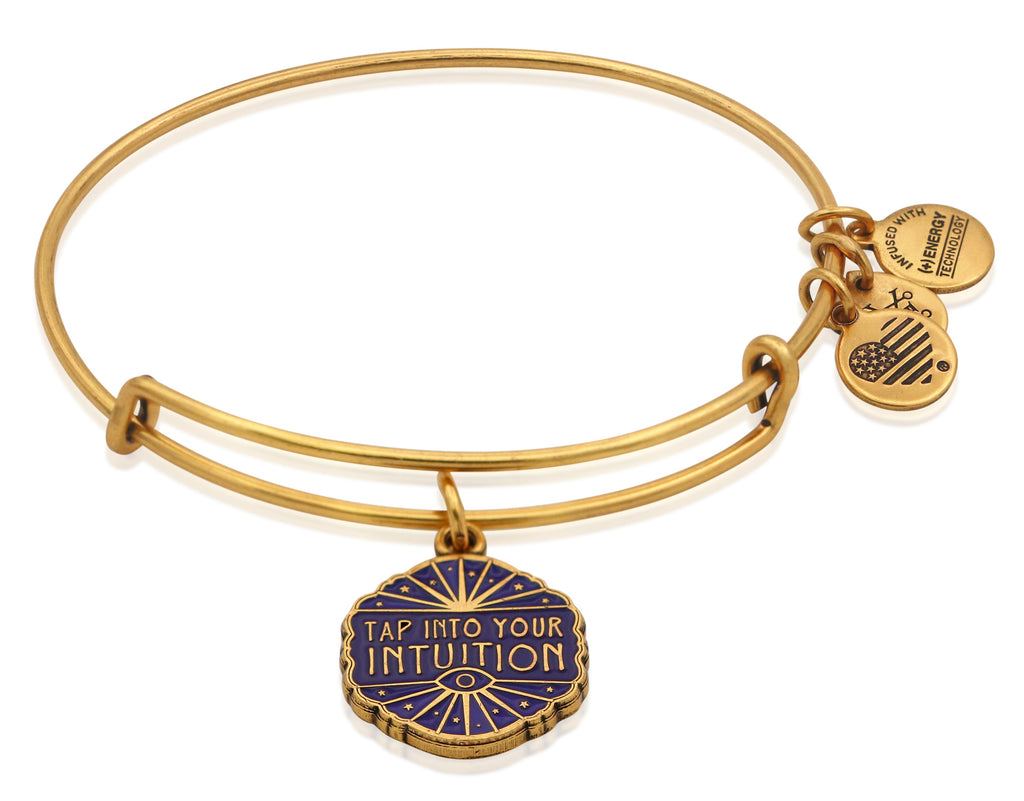 Alex and Ani Tap Into Your Intuition Charm Bangle -