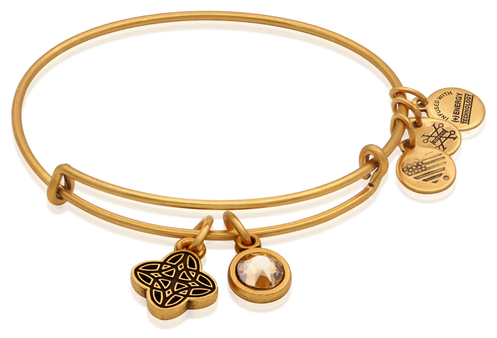 Alex and Ani Womens Wisdom Bangle Rafaelian Gold