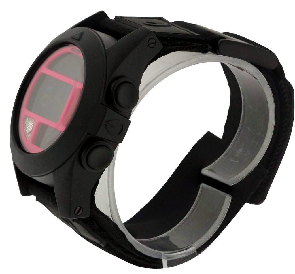 Nixon Baja Digital Black Polycarbonate Mens Watch