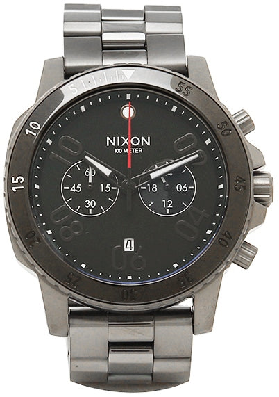 Nixon Ranger Gunmetal Chronograph Mens Watch