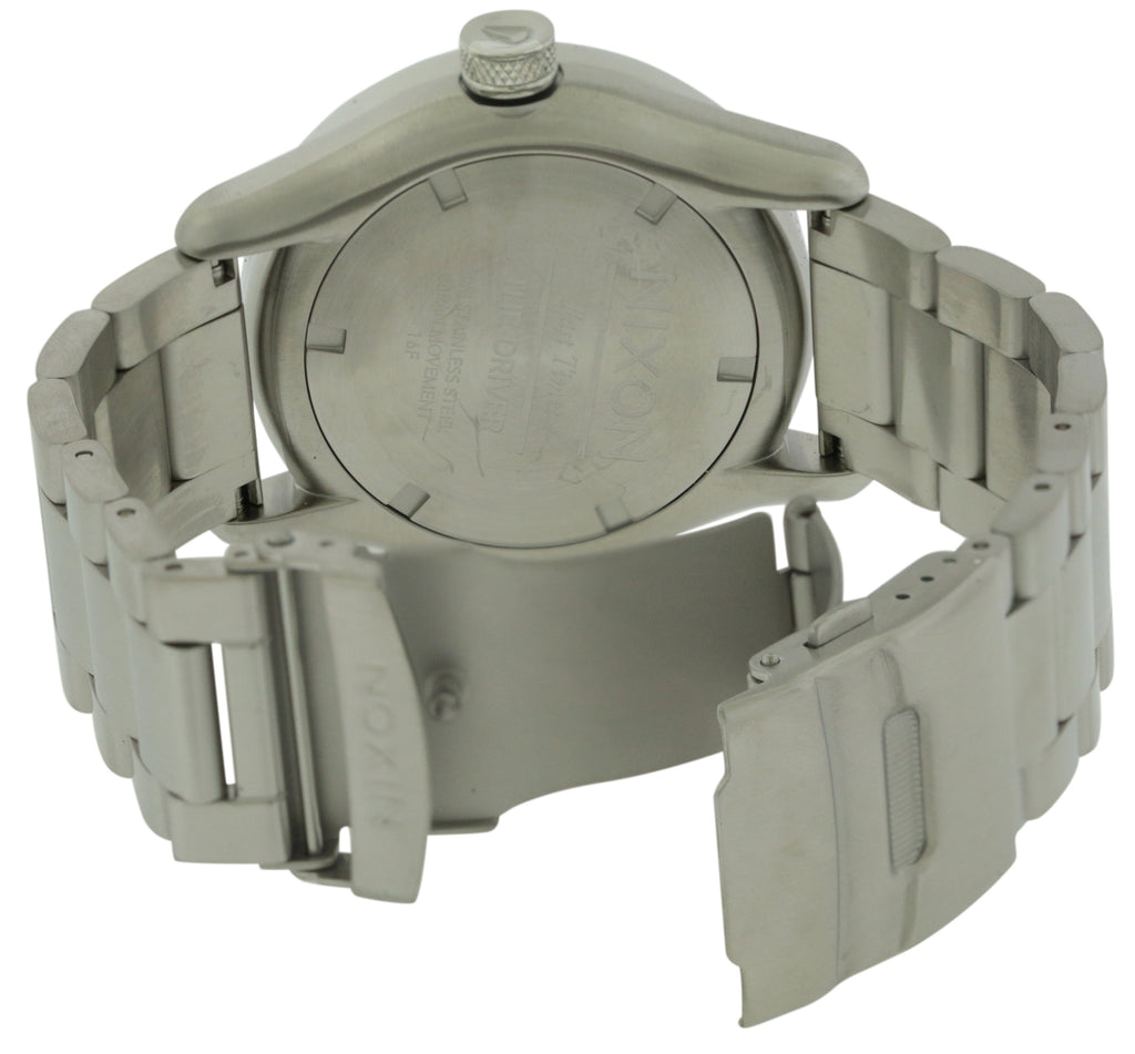 Nixon Driver Stainless Steel Mens Watch