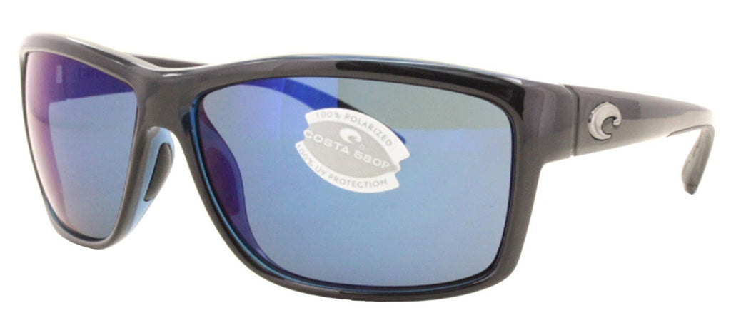 Costa Del Mar Mag Bay Polarized Shiny Black Sunglasses -