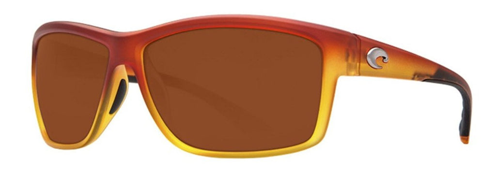 Costa Del Mar Mag Bay Polarized Matte Sunset Yellow Fade Sunglasses -
